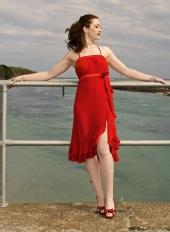 Odette Roissy - Red Dress