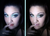 CRYSTAL BLUE IMAGING and PHOTO ENHANCEMENT - b4nafter photo editing by me stephanie