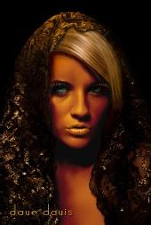 DaveDavis - Aleccia in a Golden Light