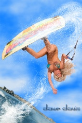 DrDavesGraphics - Wakeboard Mary (aka Splish Splash)