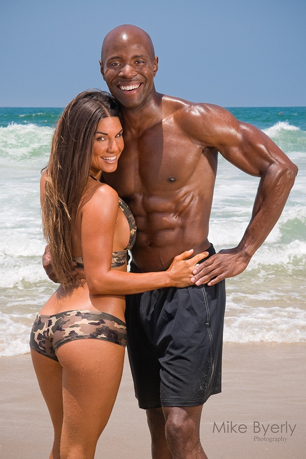 Lauren Abraham - Fitness Couples Magazine Cover