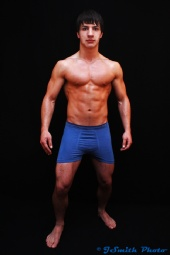 JSmith Photo - Blue Boxer Briefs