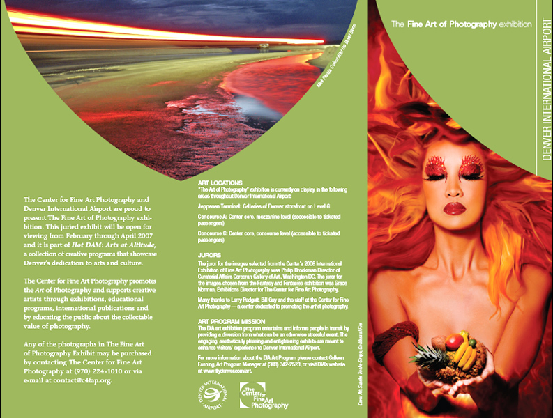 Christine - DIA Fine Art Exhibit Brochure