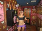 Kristen Rice - 12/21/12 - go go dancing