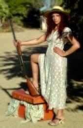 Ray Bourgeois - shotgun lady