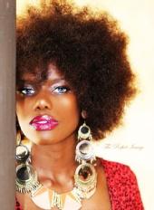 Maria Matovu - Glam shoot By photographer Steven Harvey