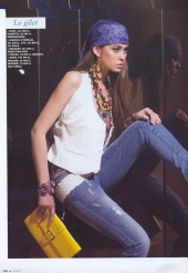 Kseniia Kadobnovak - Feme, Magazine
