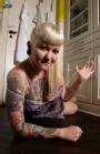 Mette Th13teen - Modelling for Sinister Girls
