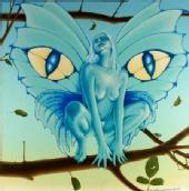 Pietro Otello Romano - cat's eyes pixie