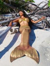 Marla Lawrenz - Mermaid Sunning