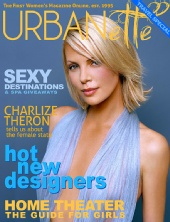 Urbanette Magazine - Charlize Theron Cover