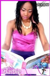 Yemi Shantelle Ola - Miss Barbie Photoshoot 2010.