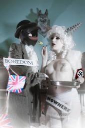 eat cake & worship satan photography - BIRDS PUT THE TURD IN CUSTARD