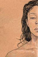 Venus - Self Portrait (pencil)