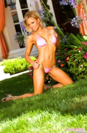 Carla-Maria - Pink Bikini-Photo by Barry Smith