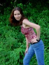 Irene - just posing outside