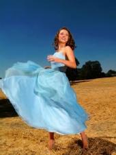 Aja - Blue Dress