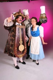 Whitney Kraus - Beauty and the Beast  - Cogsworth, Lumiere, and Belle