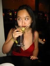 Diana Tan - Snapshot at a Martini Bar