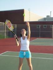 Crystal Larochelle - tennis