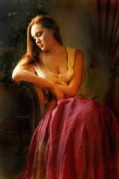 Hilary Henderson - Rose Silk Throw