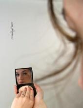 Rachel - Can't lie to a mirror.