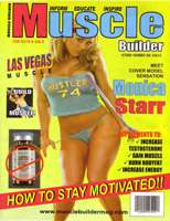 Monica Starr - Muscle Builder Cover