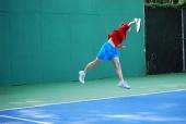 Amy Blackwell - Tennis serve
