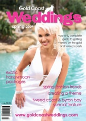 Alisha Illich - Gold Coast Weddings Magazine - Spring 2009 Issue
