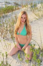 Tamara Rosenbloom - Kneeling in the Dunes