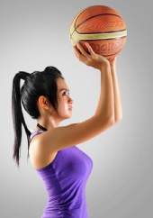Rivan Lim - Basketball Girl