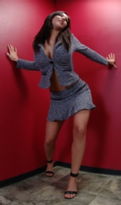 Tiffany Rose - Little Blue Suit~