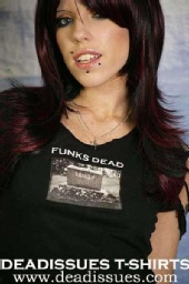 Danni Rose - Dead Issues Clothing Model