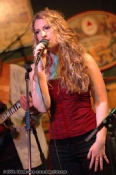 Jennifer Schroeder - Singing with the band