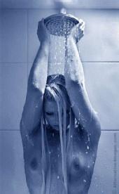 Emily Storm - shower