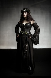 Lady Zombie - In full costume for my NOTS 19 debut.