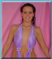 LeAnn Marie - Purple Swimsuit