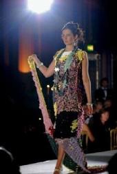 Amy MacKinnon - Fashion show for cradle uk.