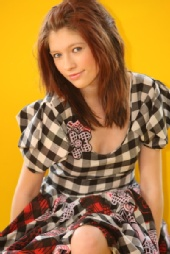 katherine holt - Zandra Rhodes SS 2008