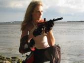 Mandy - aiming for the kill