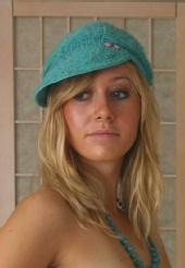 LovelyErinLee - Blue Hat