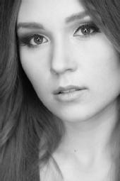 Angela - Black and White shoot at Complexions from January