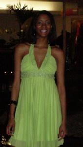 PussCKat - Green Dress