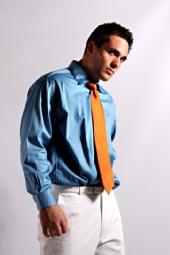 Austin - Blue and Orange II