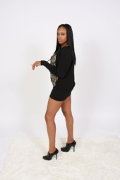 Lataja Lambert - side view dress