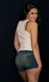 Jess - jean shorts