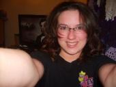 Mia - No Makeup Casual - Hair Down w/ glasses