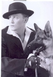 Jimmy - Jimmy with guard dog Sanka