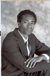 Rodney - Black and White Self-portrait 2