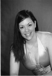 Kristyn Davis - B&W